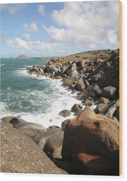Granite Island Wood Print