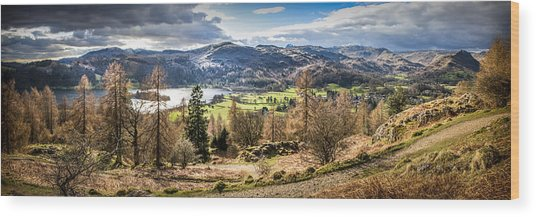 Grasmere Lake District National Park Wood Print