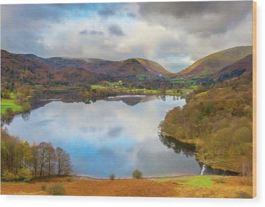 Grasmere, Lake District National Park Wood Print by Chris Hepburn