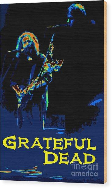 Grateful Dead - In Concert Wood Print