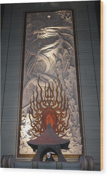Grauman's Artwork Wood Print