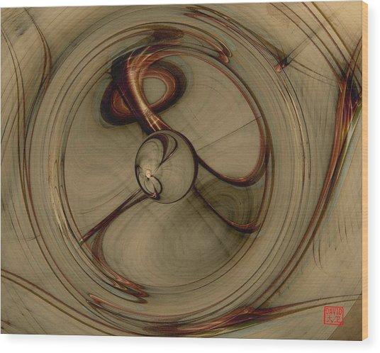 Gravity Wells Wood Print