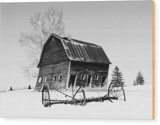 Great Grandfather's Barn Wood Print