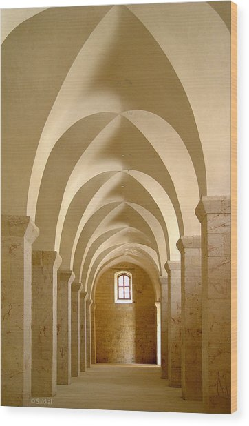 Great Mosque Of Aleppo Wood Print