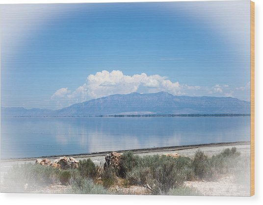Great Salt Lake Wood Print