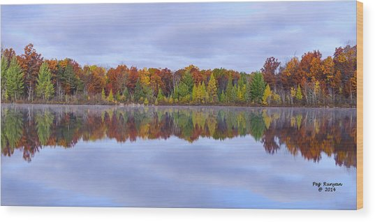 Jewett Lake Wood Print
