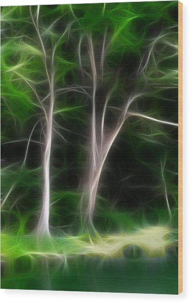 Greenbelt Wood Print