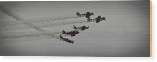 Greenwood Lake Airshow Northeast Raiders Wood Print