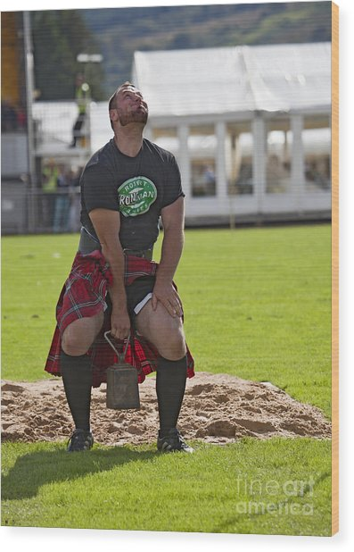 Gregor Edmunds  Highland Games Wood Print