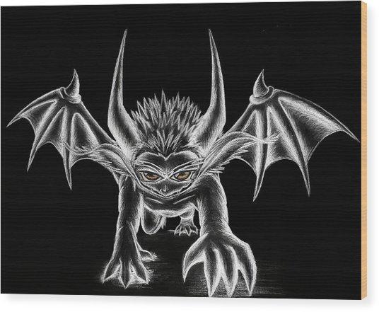 Grevil Chalk Wood Print