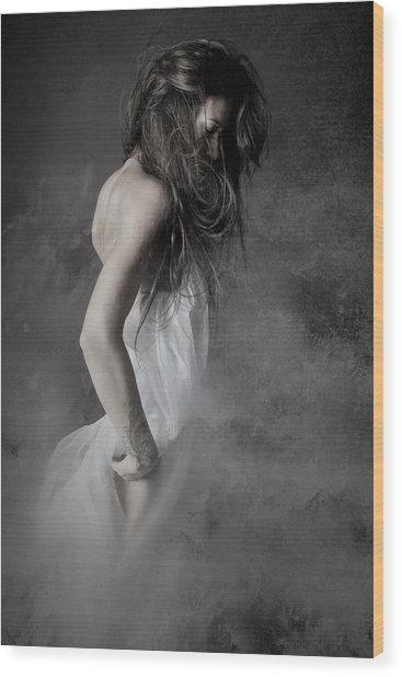 Grey Wood Print