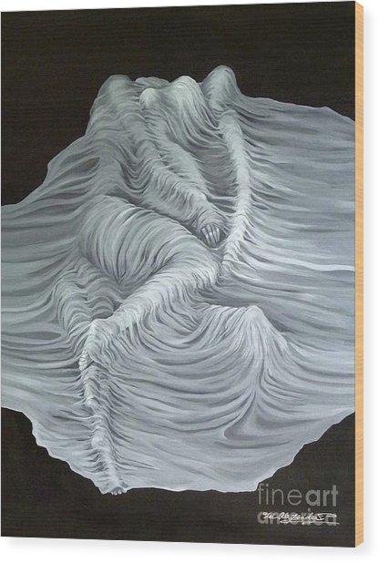 Greyish Revelation Wood Print