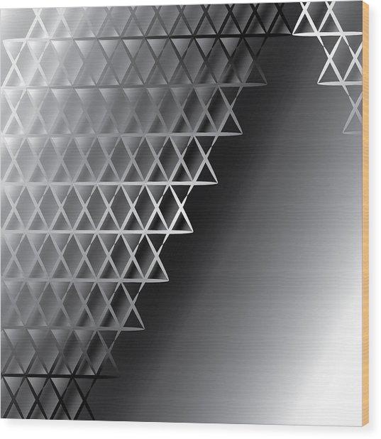 Grid 60 Float Wood Print