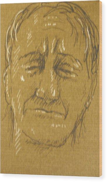 Grief Wood Print