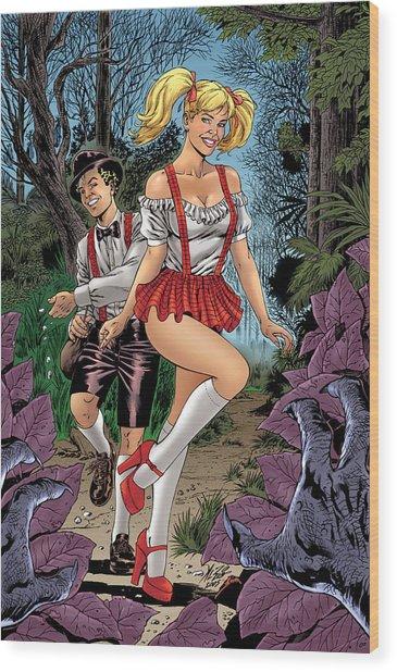 Grimm Fairy Tales 03  Wood Print