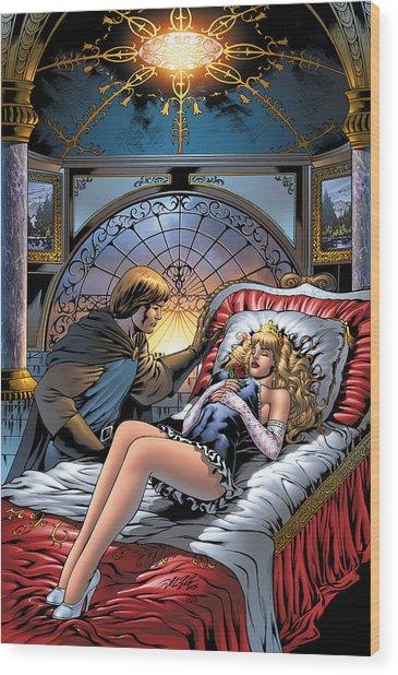 Grimm Fairy Tales 05 Wood Print