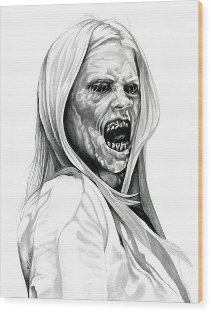 Grimm Hexenbiest Wood Print