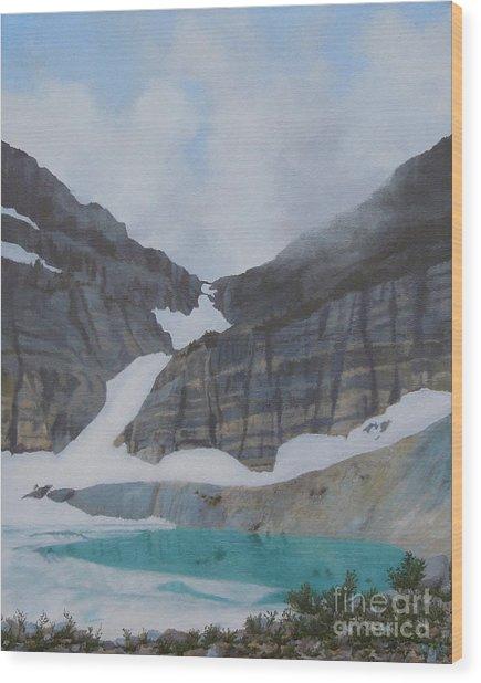 Grinnell Glacier Wood Print