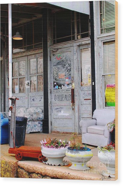 Ground Zero Clarksdale Mississippi Wood Print