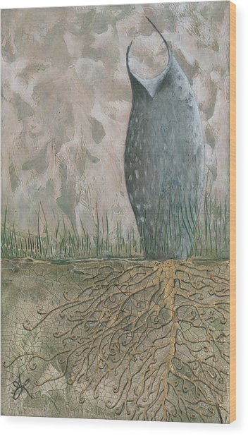 Grounded Wood Print by Aprille Lipton