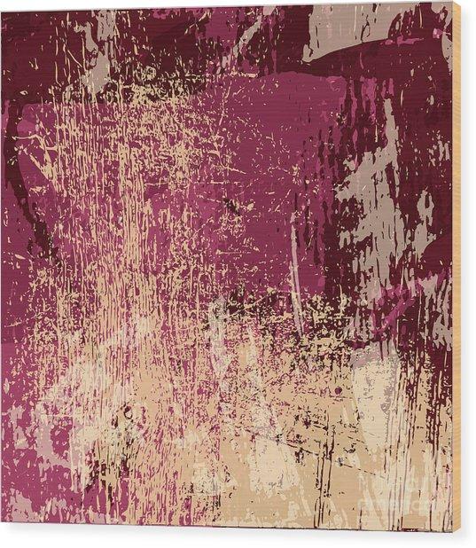 Grunge Retro Vintage Paper Texture Wood Print