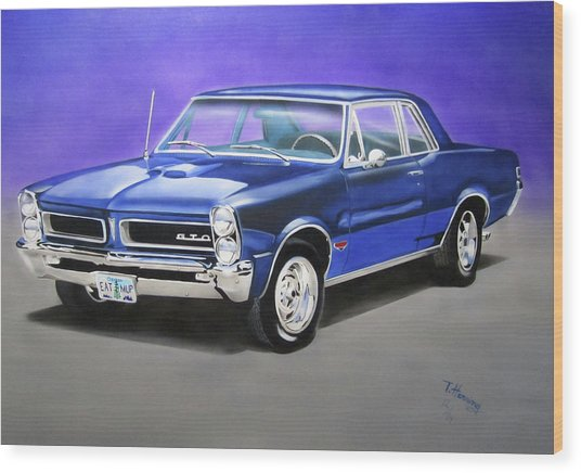 Gto 1965 Wood Print