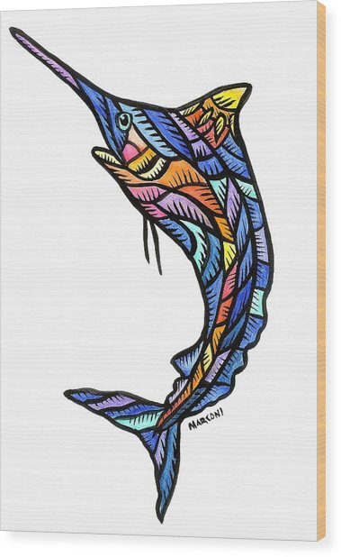Guam Marlin 2009 Wood Print