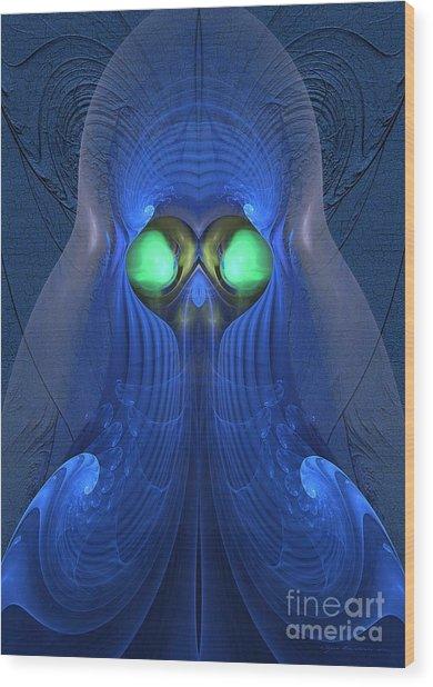 Guardian Of Souls - Surrealism Wood Print