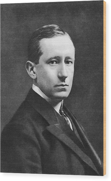 Guglielmo Marconi Wood Print by Miriam And Ira D. Wallach Division Of Art, Prints And Photographs/new York Public Library