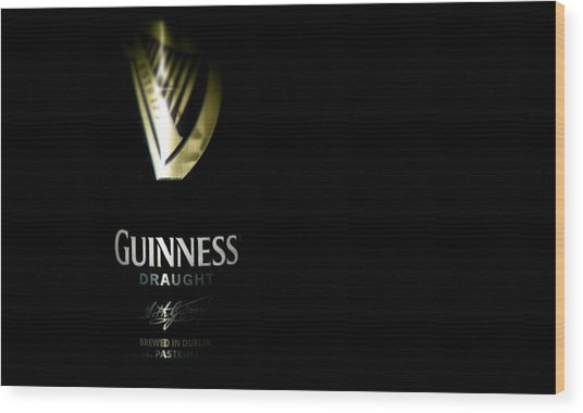 Guinness Wood Print