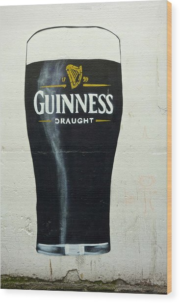 Guinness - The Perfect Pint Wood Print