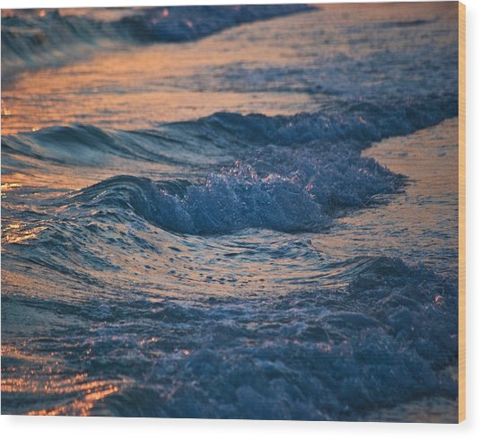 Gulf Coast Surf Wat 153 Wood Print