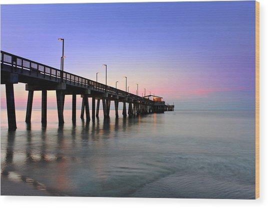 Gulf State Park Pier Wood Print