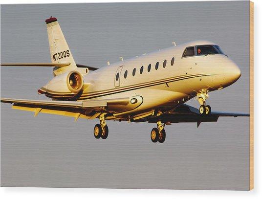 Gulfstream 200 Wood Print