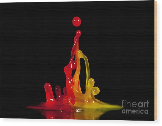 Gummy Drops Wood Print