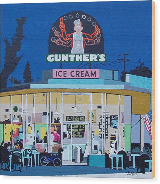 Gunthers Number 4 Wood Print by Paul Guyer