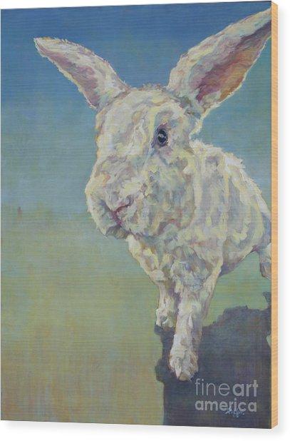 Gwen Wood Print