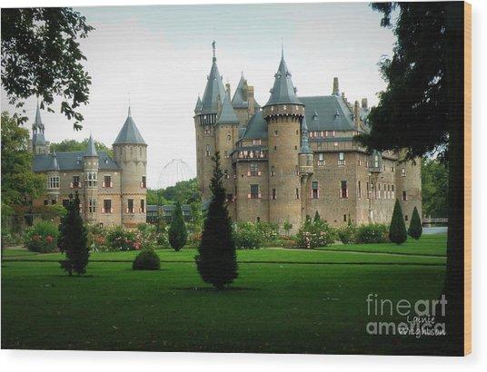 Haar Castle Wood Print