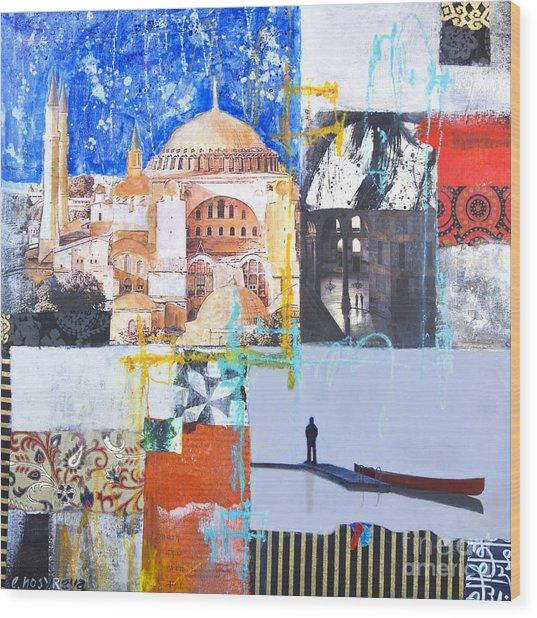 Hagia Sophia Istanbul Wood Print
