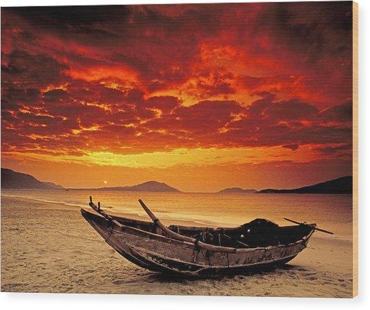 Hainan Beach 3 Wood Print