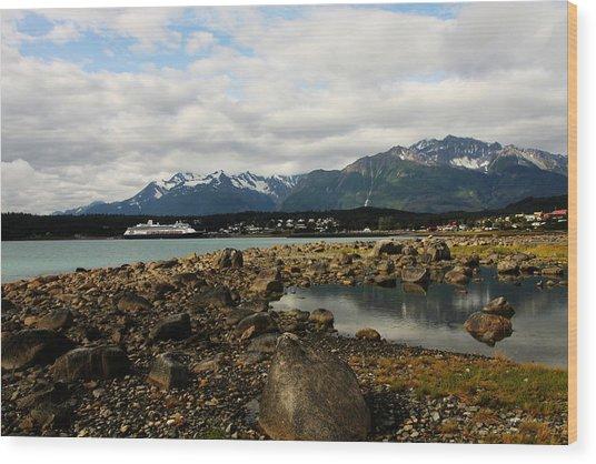 Haines Alaska Wood Print