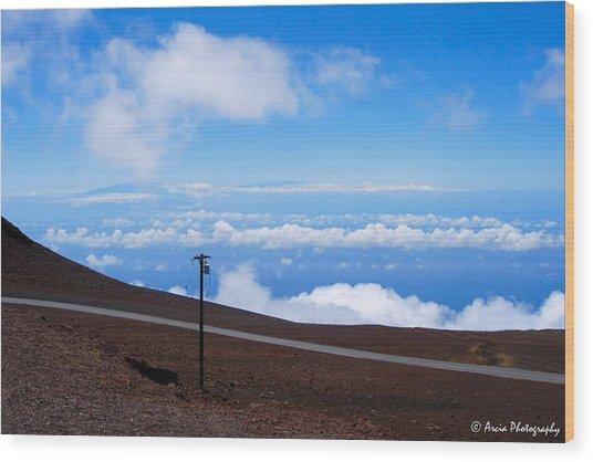 Haleakala's Heaven Wood Print
