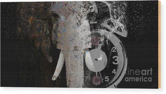 Half Past Extinction Wood Print