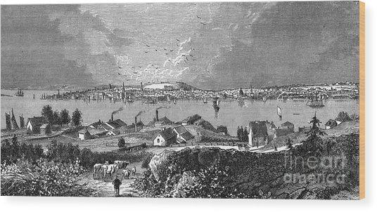 Halifax Ns - 1878 Wood Print