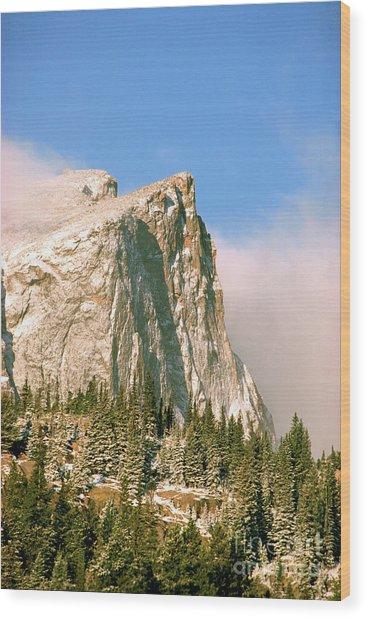 Hallet Peak Sunrise Wood Print
