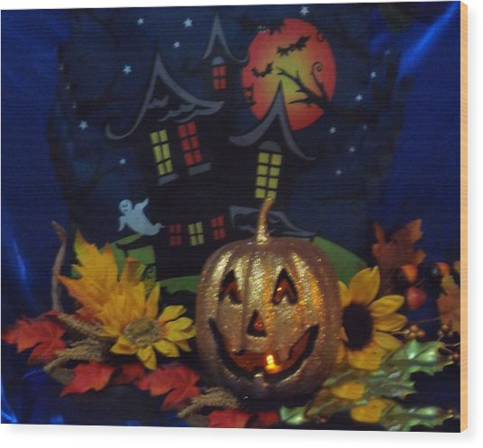 Halloween 2014 Wood Print by Rosalie Klidies
