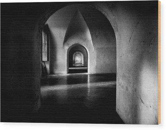 Halls Wood Print