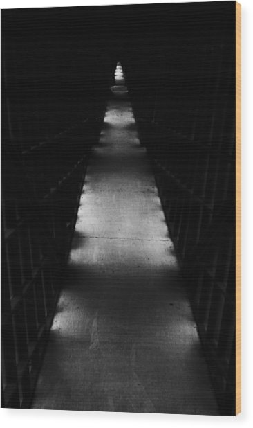 Hallway To Nowhere Wood Print