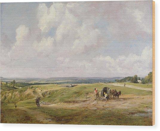 Hampstead Heath, C.1820 Wood Print