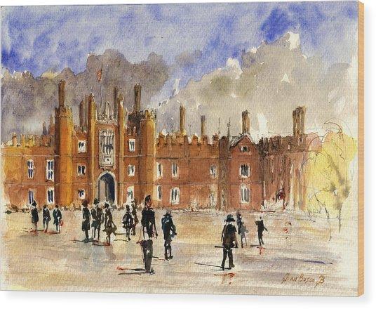 Hampton Court Palace London  Wood Print